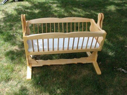 1st Swinging Baby Cradle