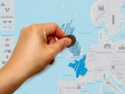 Kaparós európa térkép világutazóknak