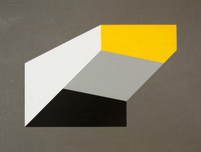 Hard-edge Painting #88 by Gary Andrew Clarke