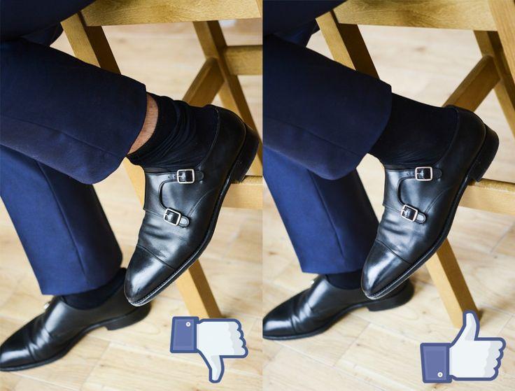 Jak nosić skarpety?  Mens Fashion   Menswear   Men's Apparel  Men's Outfit   Sophisticated Style   Moda Masculina   Mens Shirt   Elegant socks, how to wear socks,