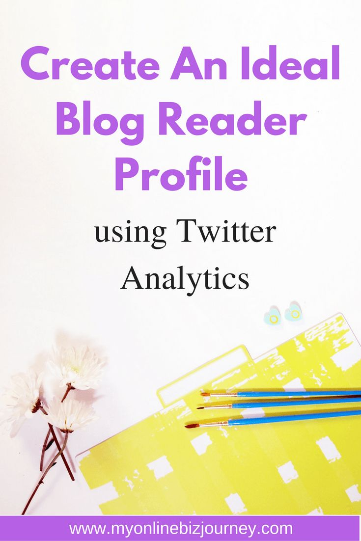 """If you've been online long enough, I know you've been told to have create an ideal blog reader profile or what is more commonly referred to as an """"avatar"""" or at an even more advanced level a """"buyer persona"""". The thing with creating an avatar though is that when you first start out , creating an avatar out of thin air can be challenging because you simply have NO CLUE. I know it was for me. If you've ever felt that way, I am here to present Twitter Analytics as a tool you can use..."""
