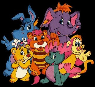The Wuzzles! I was fat as a little kid, so my older brother used to always call me Elee-Roo
