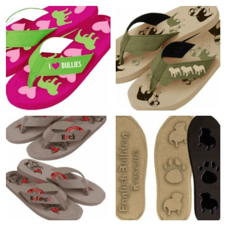 ❤Chicago English Bulldog Rescue, Inc.❤  is selling BULLDOG FLIP-FLOPS - as a run raiser. Not only are they CUTE with little paws, hearts & bulldogs - but they support the great work of Chicago Bulldog Rescue.  All sizes for male/female & kids.  Check them out & show your bulldog passions!! Link >> http://shopcebr.com/collections/frontpage/products/flip-flop