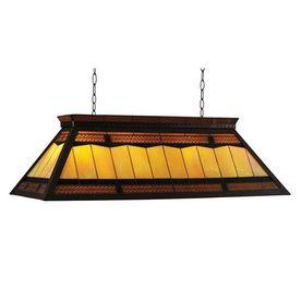 Pool table light. RAM Gameroom Products Filigree Pool Table Lighting- Lowe's