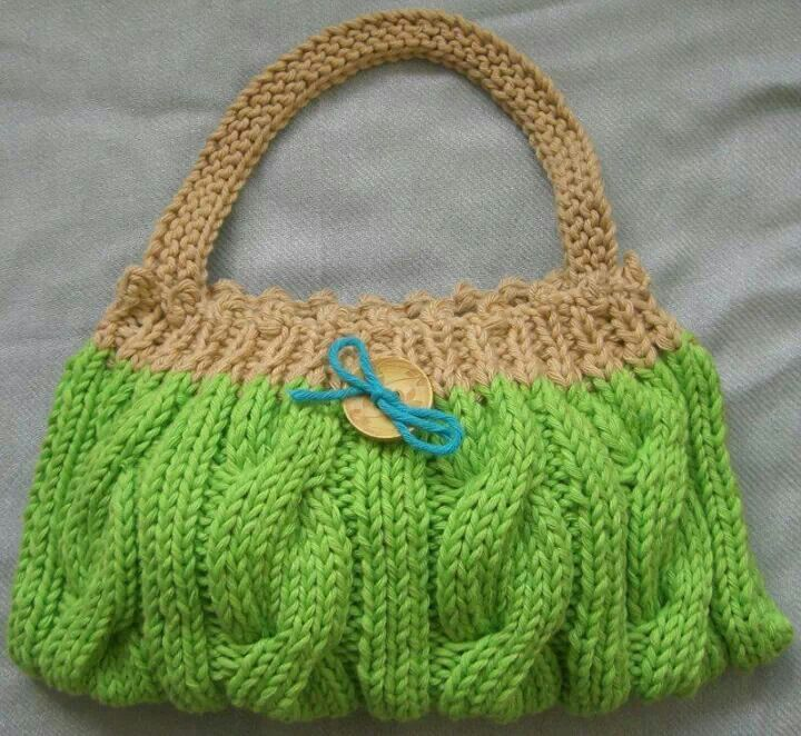 Knit; I like the pattern, but I'd change the colors.