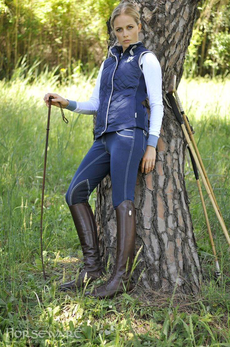 Horseware Polo Collection S/S15: NEW Amelia heritage gilet ...