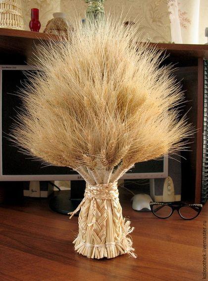 """Букеты ручной работы. Ярмарка Мастеров - ручная работа. Купить """" Дух поля"""" Сноп из колосьев пшеницы.  Соломка. Колосья.. Handmade."""