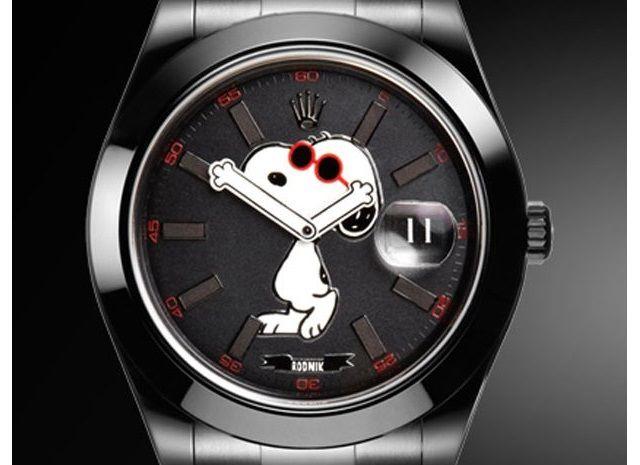 腕時計「SNOOPY DATEJUST」を発表…スヌーピーとロレックスがコラボ - ライブドアニュース