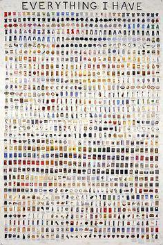 "Artist Simon Evans: Envisioning ""Everything I Have"" - PSFK"