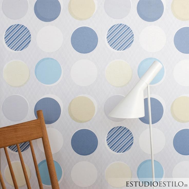 #trestintas #papelpintado #decoración