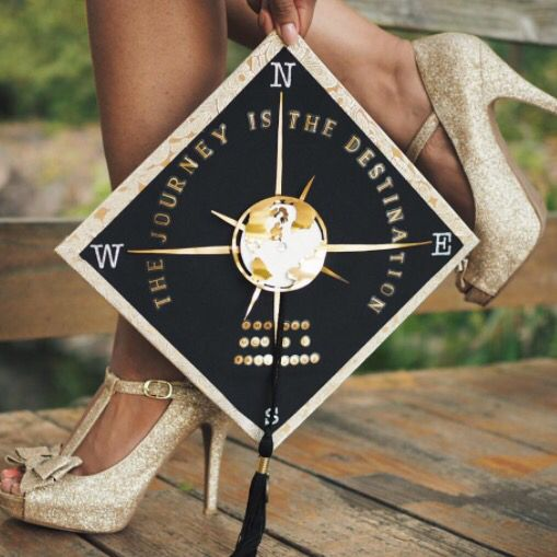 travel graduation cap