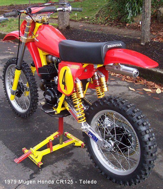I'll take it if nobody else wants it!  Trick Mugen Honda Cr125