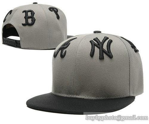 Cheap Wholesale Trendy Hiphop Gray Snapback Hats MLB Team Logo 6 for slae at US$8.90 #snapbackhats #snapbacks #hiphop #popular #hiphocap #sportscaps #fashioncaps #baseballcap
