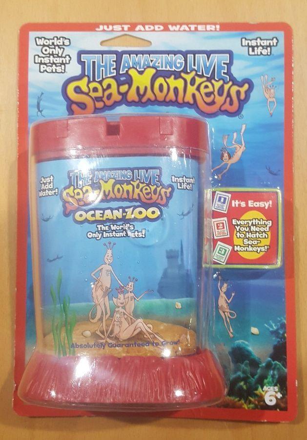 Amazing Live Sea Monkeys Ocean Zoo Color Styles Vary 703086852364 Ebay Monkeys Ocean Sea Sea Monkeys Ocean Ebay