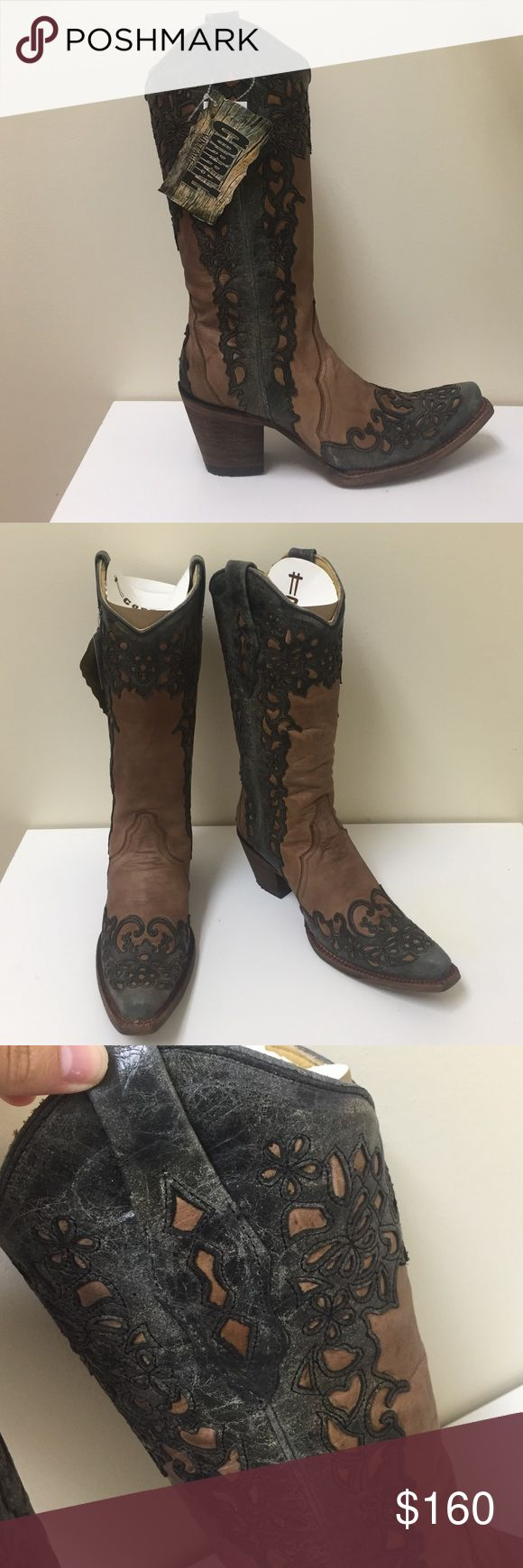 Corral Vintage Boots These boots are from the Corral Vintage line! :) Retail price is $318. New in box with all tags attached. No trades!! Corral Boots Shoes Heeled Boots