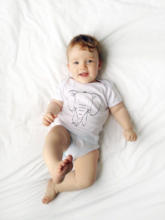 The Wild Modern Unisex Baby One Piece Short Sleeve
