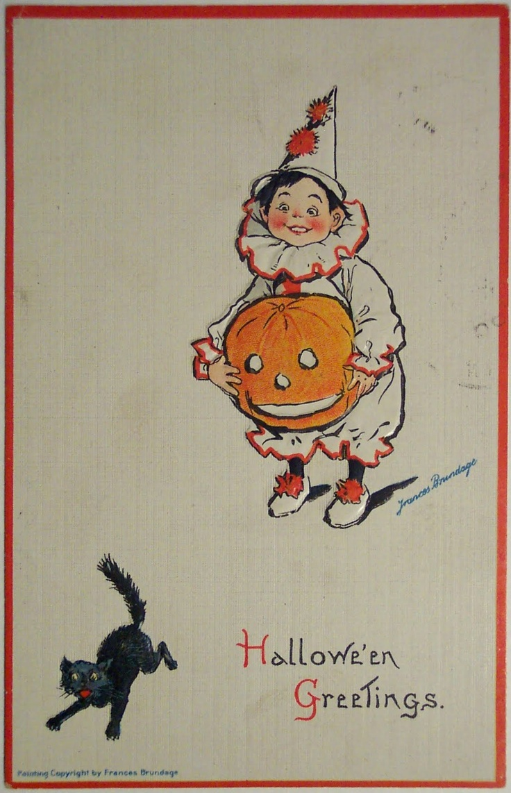 halloween: Halloween Image, Vintage Halloween, Halloween Cards, Vintage Holiday, Halloween Greeting, Halloween Vintage, Halloween Postcards, Holiday Image, Art Halloween
