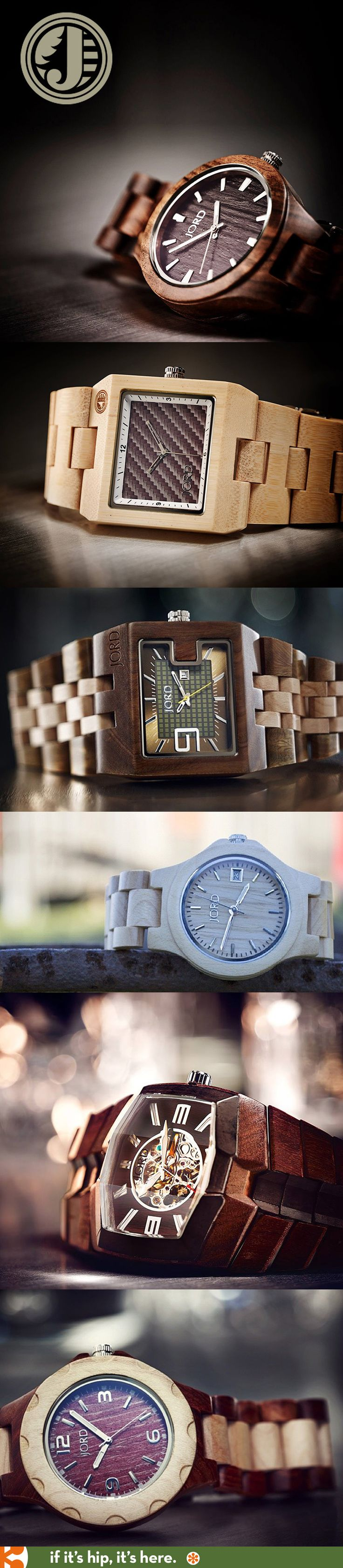 100% Natural Wood Watches for men and women. I saw these in Sturgis, SD. Absolutely beautiful watches! #thestyleything #theything