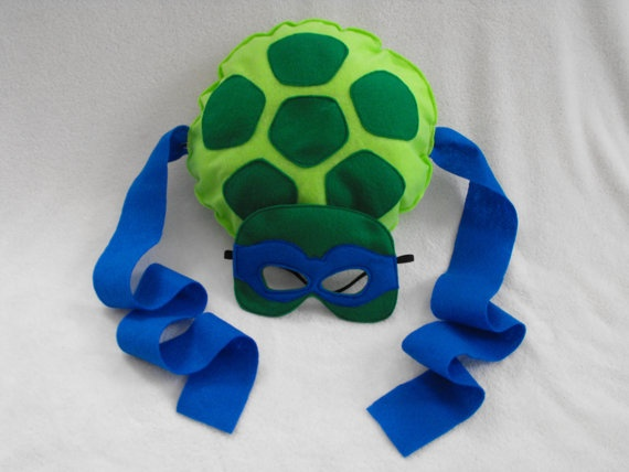 TMNT turtle costume by CapesNCrowns on Etsy, $25.00