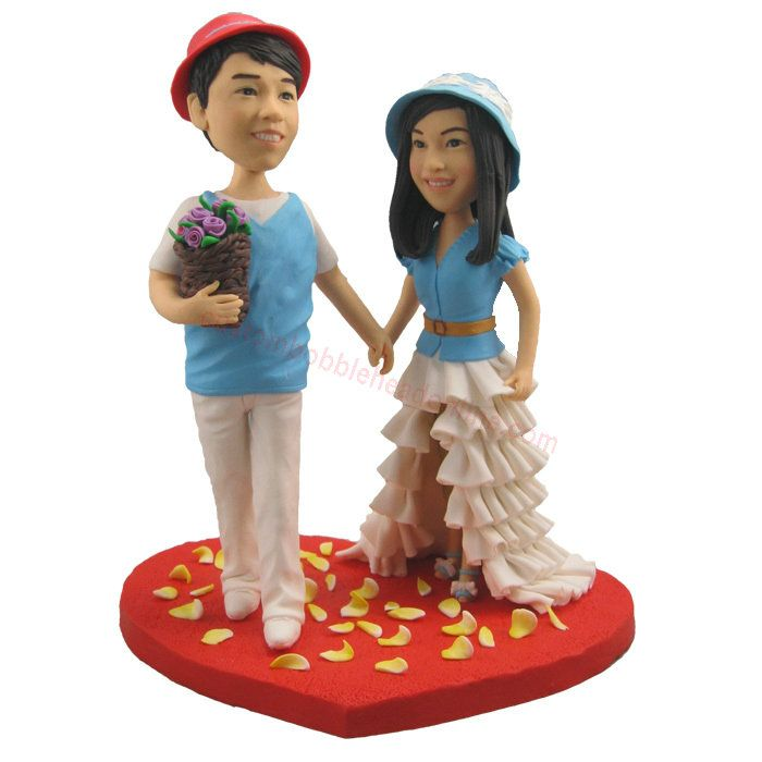 buy couples personalized bobblehead dolls - make your own bobblehead