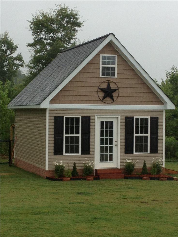 102 best backyard storage sheds images on pinterest doll houses garden houses and dreams. Black Bedroom Furniture Sets. Home Design Ideas