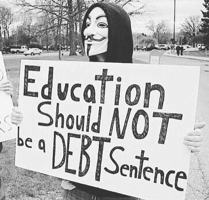 Education should not be ...