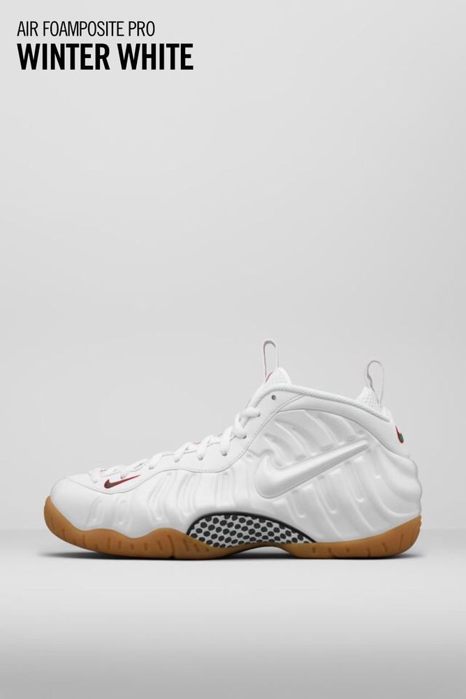 Nike Foamposite Synthetic Athletic Sneakers for Men