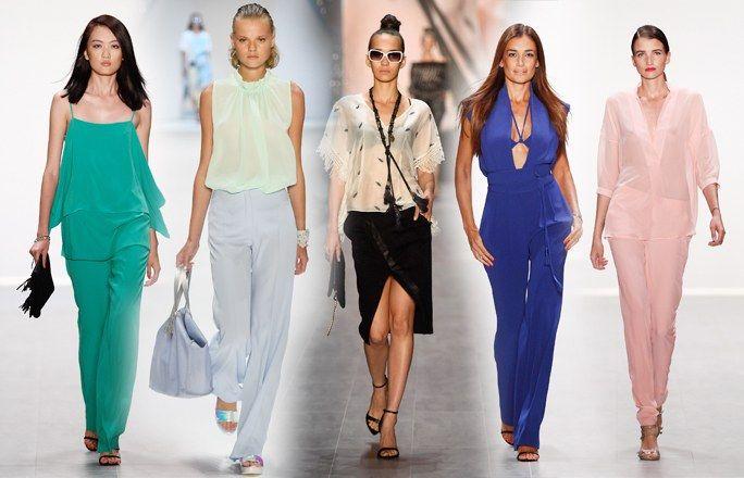 Modetrends für Frühjahr/Sommer 2015