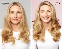 Hot rollers: A hair pro shows you how to get shiny, bouncy hair with these heated wonders. Double-click for directions.
