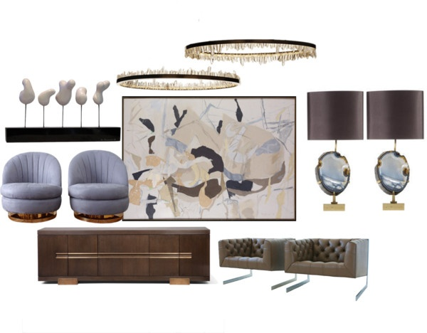 Interior Design 05 By Neonmilk On Polyvore Art Deco