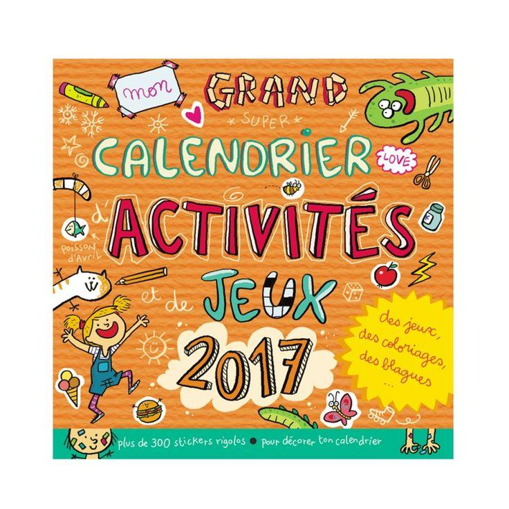 Les Éditions 365 prépentent un calendrier avec des jeux, des coloriages, des blagues et plein d'autres activités amusantes à faire pour que votre enfant apprenne à s'organiser tout en s'amusant.