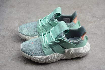 huge selection of 435cc 2edbd 2018 Womens adidas Prophere Clear Mint Solar Red White AQ1138 Shoes-2