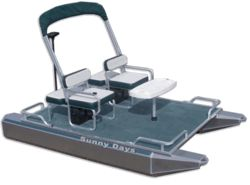 Electric Mini Pontoon Boat