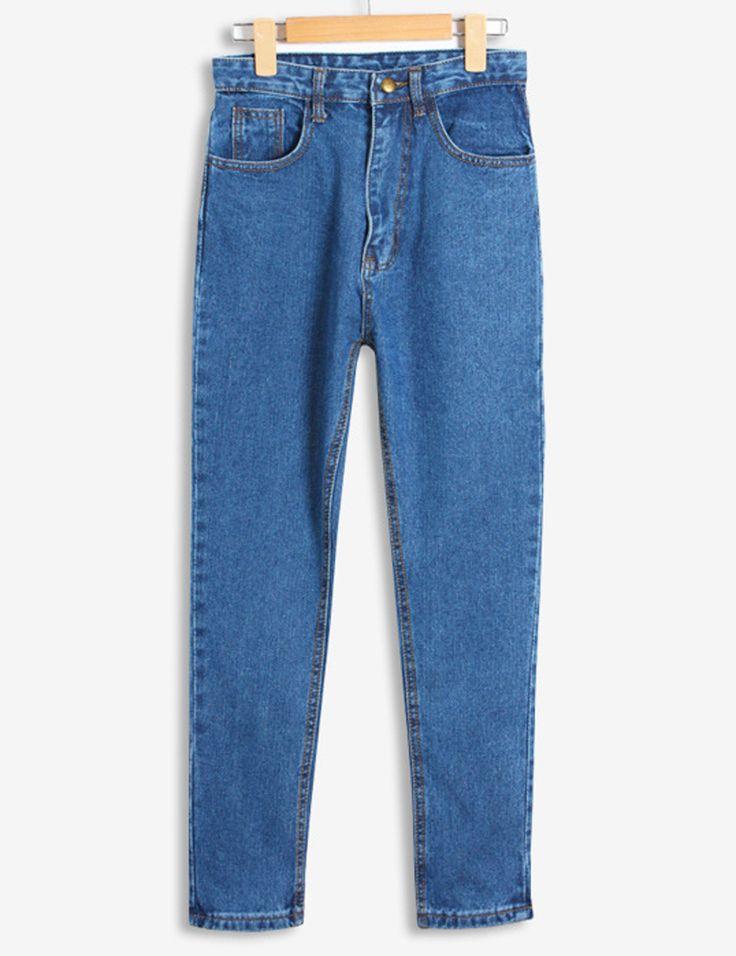 Nova Primavera Outono Plus Size calças de Brim Mulher Solta Calça Jeans de Cintura Alta Calça Jeans Boyfriend Para As Mulheres Feminino C3009 em Calças de brim de Das mulheres Roupas & Acessórios no AliExpress.com | Alibaba Group