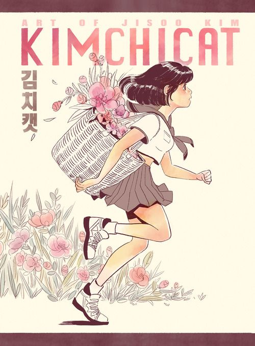 Kimchicat Art of Jisoo Kim