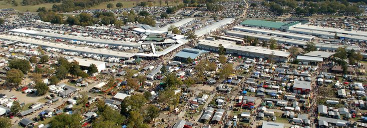 Texas' Largest Flea Market: Located in Canton, Texas. Meets once a month. Has 28 MILES of paths to walk through, in the market grounds! **Note - You can rent a scooter, if you need it. See the scooter rental tab at this link.