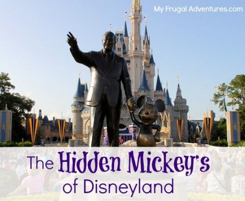 Do you know about the hidden Mickey's at Disneyland and DisneyWorld?  This can be a fun activity for the kiddos- find them yourself or use the free printable sheets for a scavenger hunt!