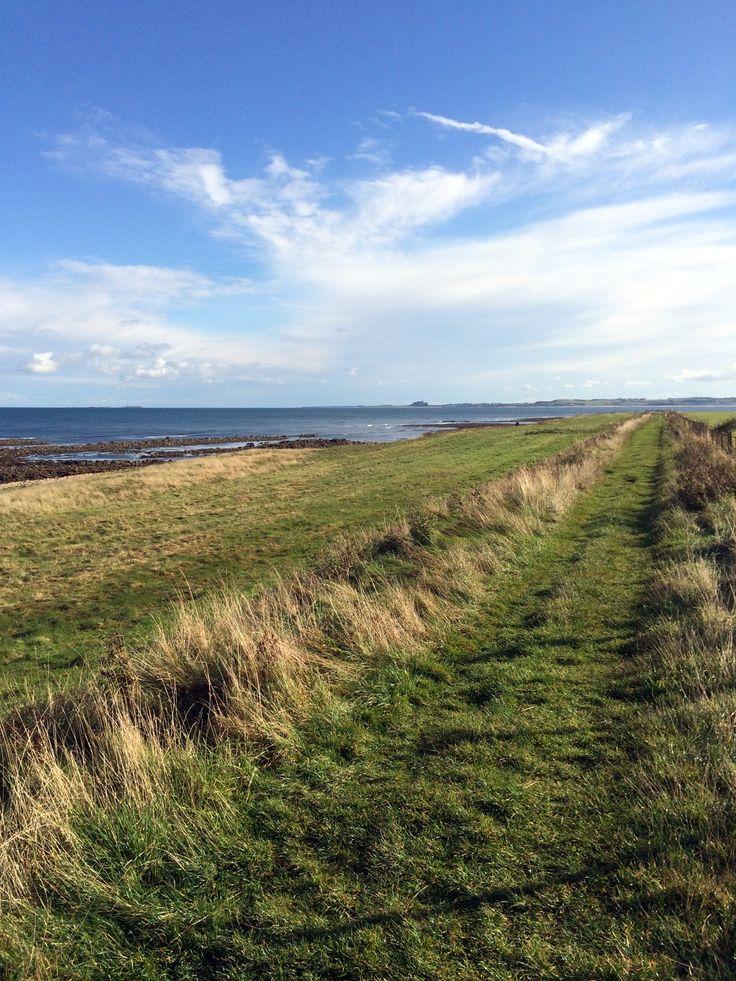 Walking around Lindisfarne