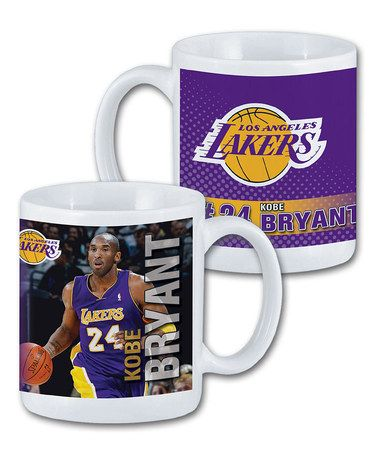 Another great find on #zulily! Los Angeles Lakers Kobe Bryant Mug #zulilyfinds