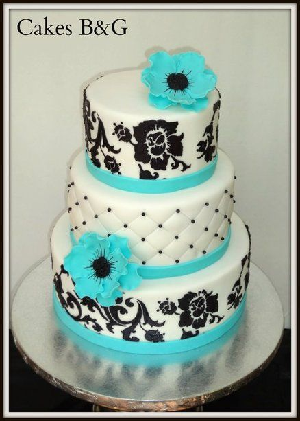 wedding cake makers evesham 17 best images about color combo turquoise and black on 23140