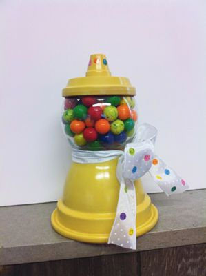 Clay Bell Pot Gumball Machine