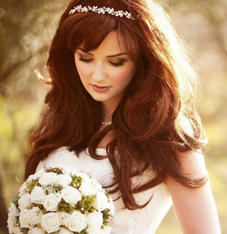 Wedding Hairstyles With Tiaras For Long Hair: 25+ Best Ideas About Wedding Hairstyles Veil On Pinterest