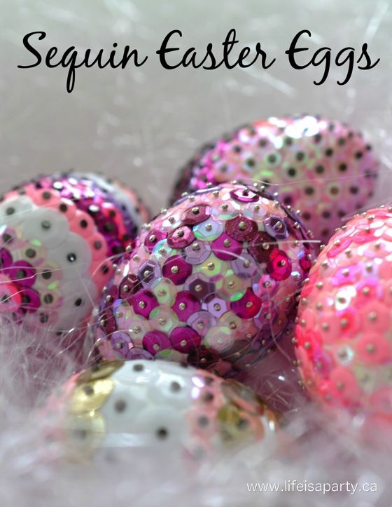 Share Tweet Pin Mail Aren't these sequin Easter eggs beautiful, and they're super simple to make too. My daughter Maddie, who's in grade two ...