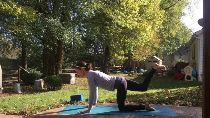 45-Minute Yoga Flow Focused on Legs and Glutes - Facing Your Giants