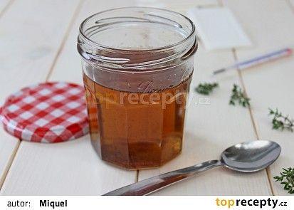 Tymiánový sirup proti kašli recept - TopRecepty.cz