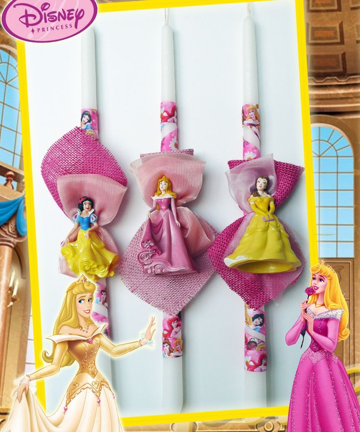 Λαμπάδες Disney Princess