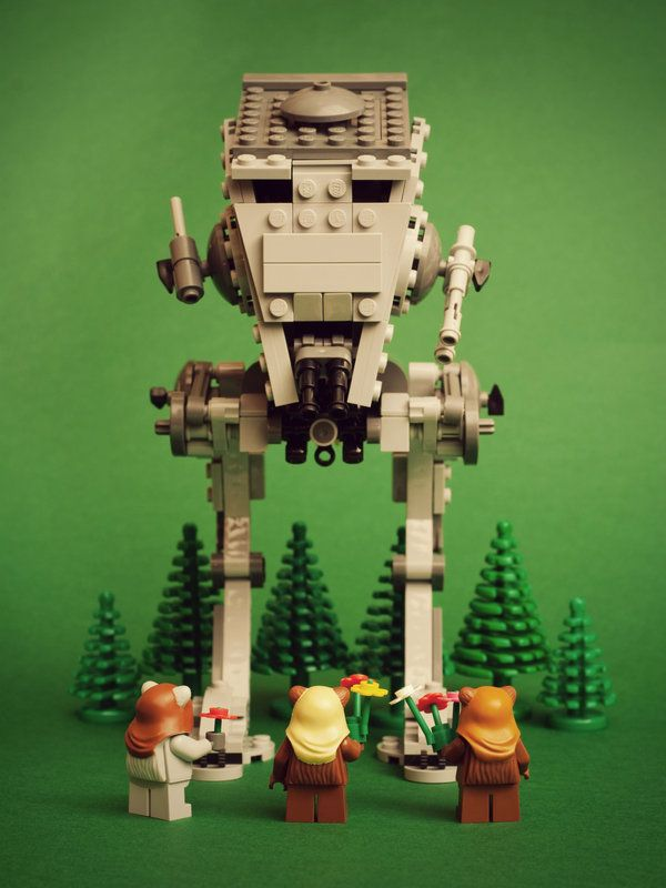 hippy ewoks lego stars warsi