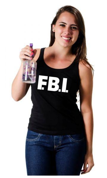 Camiseta FBI - Reis Online Camisetas Personalizadas