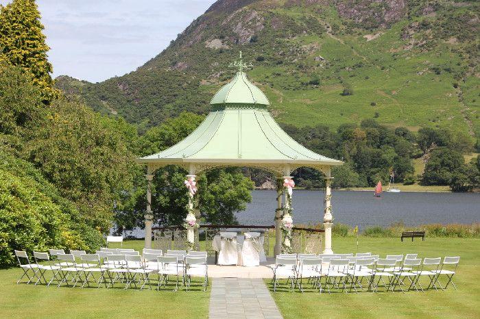 Wedding Venue Inn on the Lake, Ullswater, The Lake District