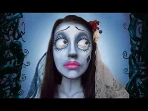 Corpse Bride Make Up Tutorial - La Sposa Cadavere Tim Burton - Tutorial Videos